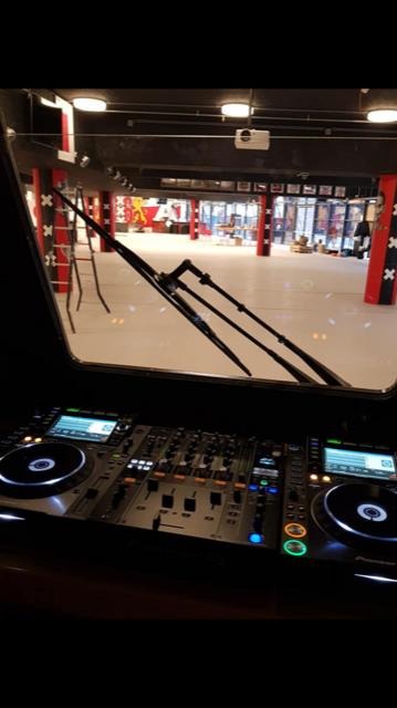 DJ Booth Tram