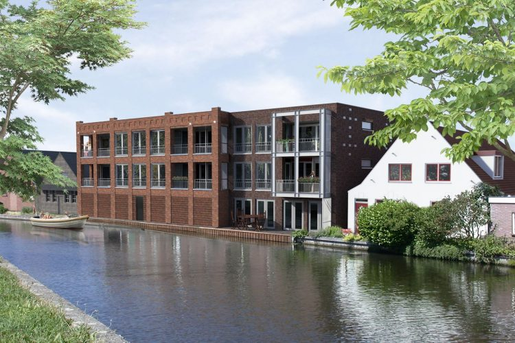Nieuwbouw 8 appartementen Leidsestraatweg Woerden
