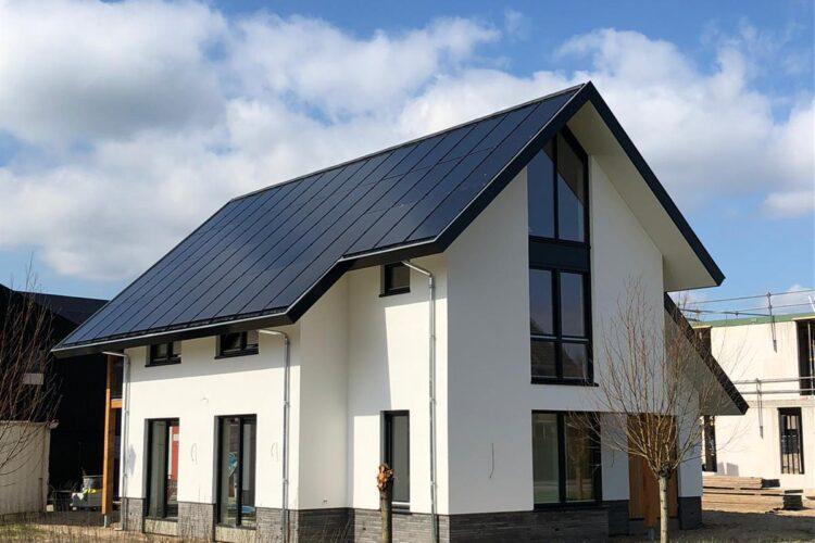 Nieuwbouw Villa Abcoude met Indaksysteem van PV Panelen